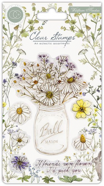 Fresh Cut - Wildflower Meadow - A6 Clear Stamp Set
